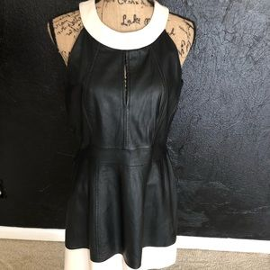 Women's French Connection Leather Dress